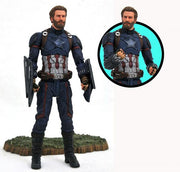 2019 Diamond Select Marvel Avengers: Infinity War Select Captain America Action Figure