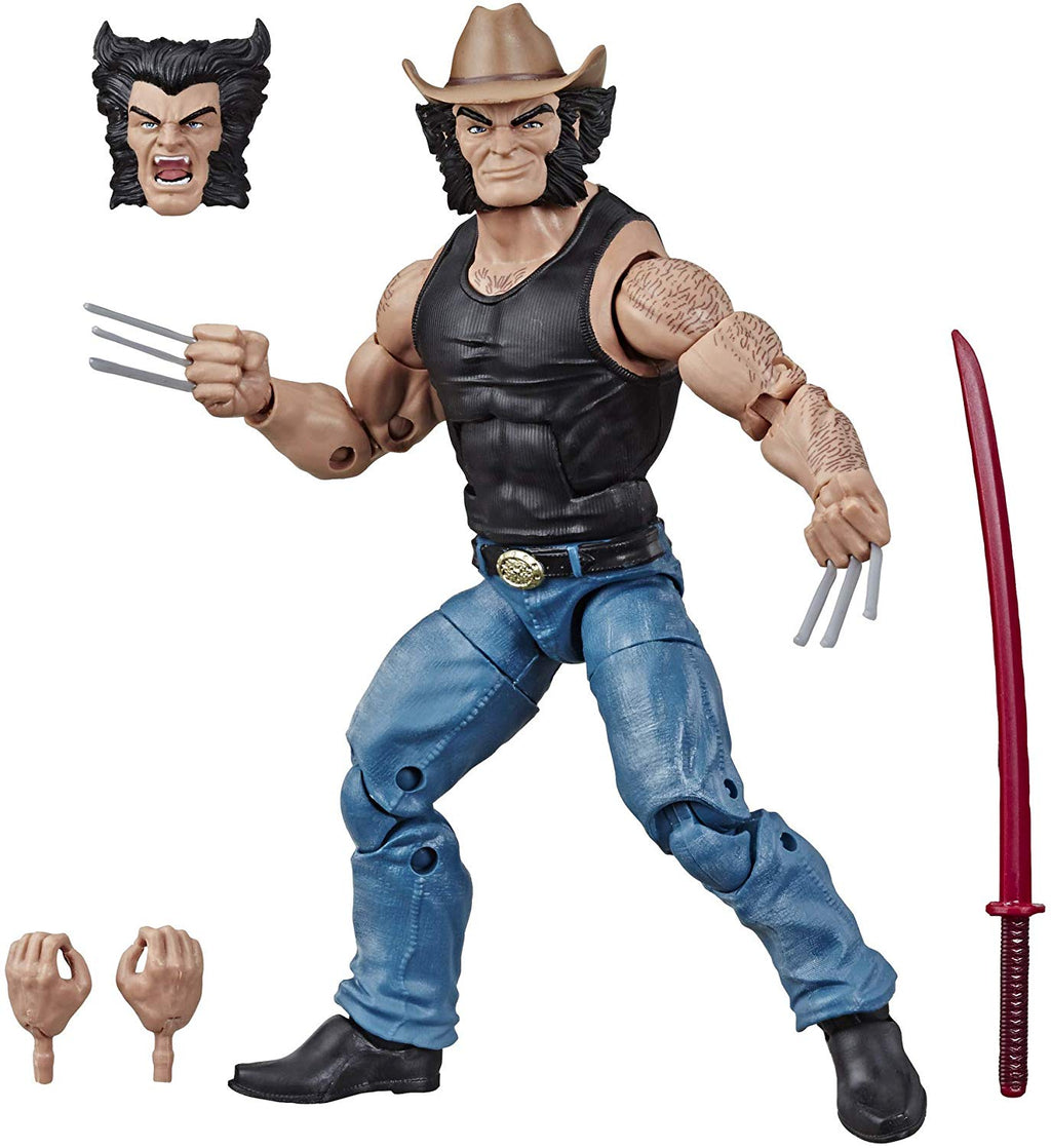 Marvel Comics 80th Anniversary Marvel Legends Cowboy Logan - Action Figure