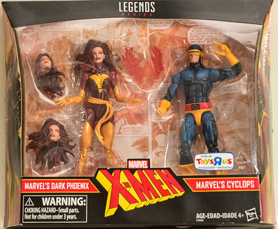 2017 Hasbro X-Men Marvel Legends Marvel's Dark Phoenix & Marvel's Cyclops Two-Pack