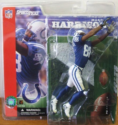 2001 McFarlane Sportspicks NFL Series 2 Marvin Harrison -  Action Figure