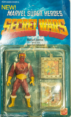 1984 Marvel Super Heroes Secret Wars Baron Zemo - Action Figure VINTAGE