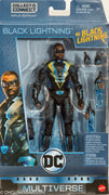 "2018 Mattel DC Comics Multiverse Wave 11 ( BAF Ninja Batman) Black Lightning 6"" Action Figure"