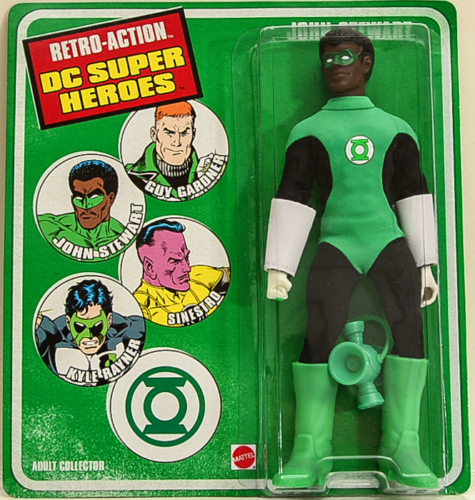 "2010 DC Super Heroes Retro Action John Stewart 8"" Action Figure"
