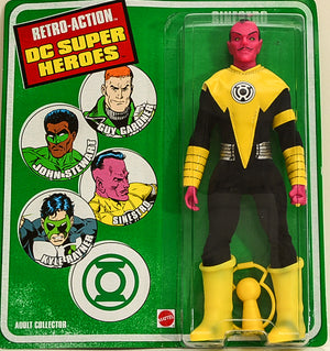 "2010 DC Super Heroes Retro Action Sinestro 8"" Action Figure"