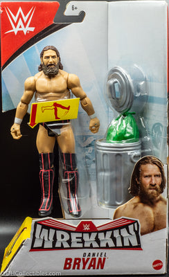 2019 WWE Wrekkin' Daniel Bryan -  Action Figure with Wreckable Accessory