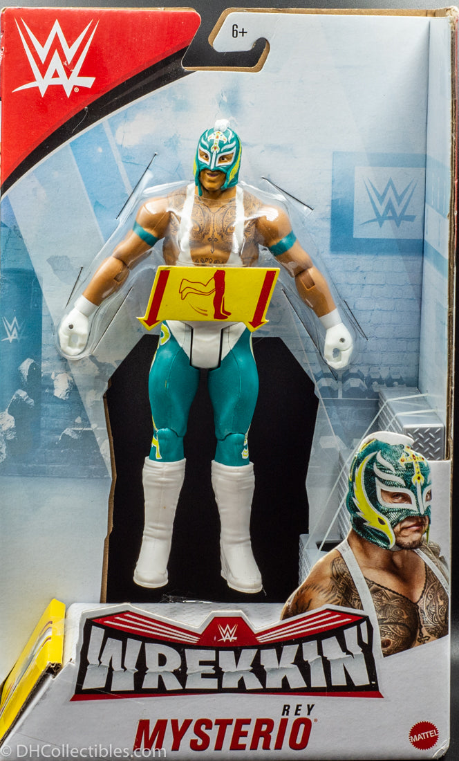 2019 WWE Wrekkin' Rey Mysterio -  Action Figure with Wreckable Accessory