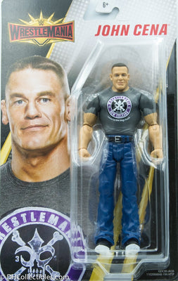 2018 Mattel WWE Wrestlemania John Cena Action Figure