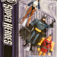 2006 Justice League Unlimited DC Super Heroes Batman, Shining Knight & Zatanna Action Figures