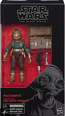 2017 Star Wars Black Series Maz Kanata Action Figure
