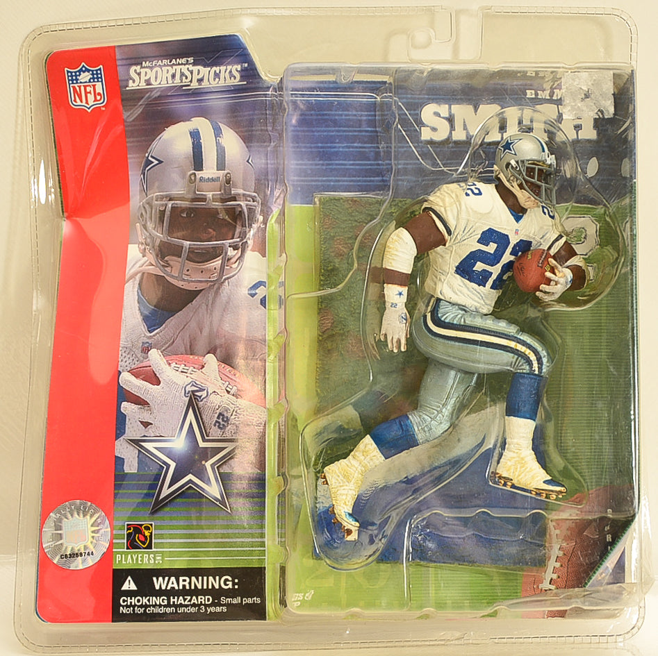 McFarlane - NFL - Emmitt Smith Dallas Cowboys Series 1 - Action Figure