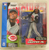 McFarlane Toys 2002 Series 2 Ken Griffey Jr Cincinnati Reds  in Grey Uniform Action Figure