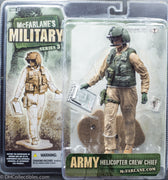 2006 McFarlane's Military Series 3 Army Helicopter Crew Chief Action Figure