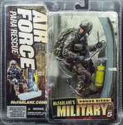 2012 McFarlane's Military Series 5 Air Force Para Rescue Action Figure