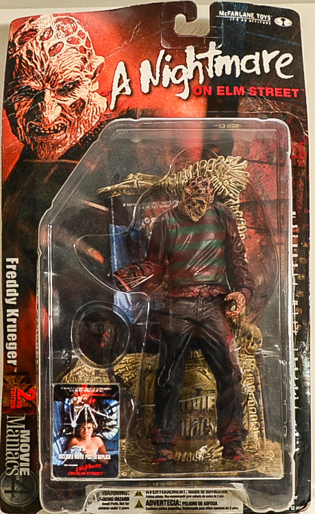 2001 Movie Maniacs 4: Freddy Krueger A Nightmare On Elm Street Action Figure