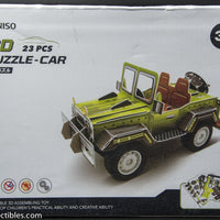 Miniso 3D Puzzle Car (Jeep) 23 Pieces