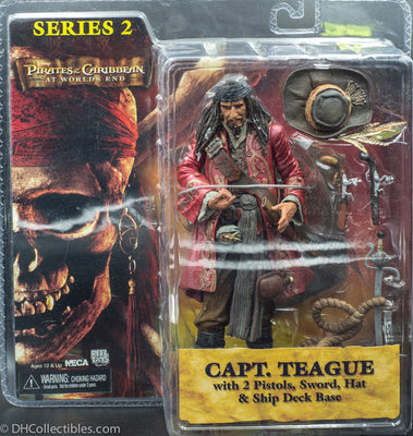 NECA Pirates of the Caribbean Series 2 Captain Teague Action Figure