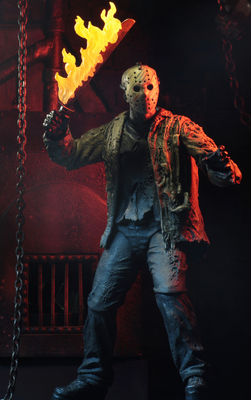 2019 Neca Nightmare On Elm Street Freddy vs Jason Ultimate Jason Figure