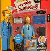 Playmates - The Simpsons - Interactive Herb Powell - Action Figure