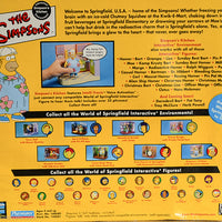 2001 Playmates The Simpsons Intelli-Tronic Simpson's Kitchen Muumuu Homer Action Figure
