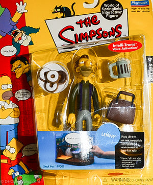 2001 Playmates The Simpsons Intelli-Tronic Series 4 Lenny Action Figure