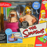 2000 Playmates The Simpsons Intelli-Tronic Nuclear Power Plant Interactive Environment
