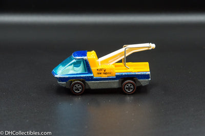 1970 Hot Wheels Redline The Heavyweights Tow Truck Aqua
