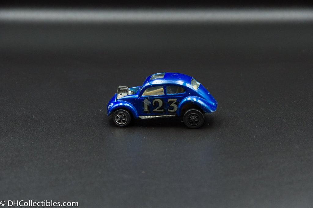 1968 Hot Wheels Redline Custom Volkswagen VW Bug Beetle Blue