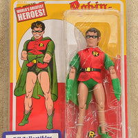 "Figures Toy Co. - World's Greatest Heroes Series - Robin The Boy Wonder Action Figure 8"" Mego Retro"