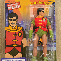 "Figures Toy Co. World's Greatest Heroes - Robin Super Friends Series 1 Action Figure 8"" Mego Retro"