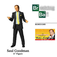 "2014 Mezco Breaking Bad Saul Goodman 6"" Action Figure"