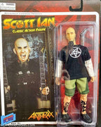 "2010 Emce Toys Bif Bang Pow Scott Ian 8""  Action Figure"