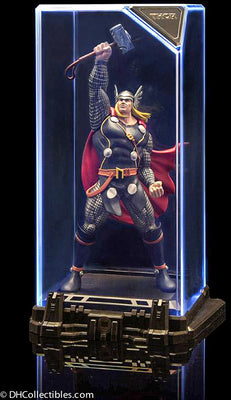 2019 Sentinel Marvel Super Hero Illuminate Gallery Collection 1 Thor Statue Figure