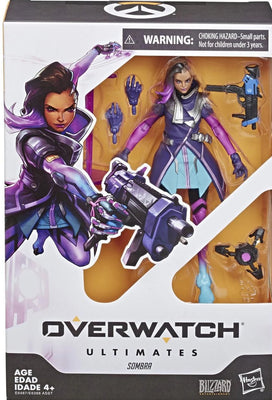2017 Hasbro Overwatch Ultimates Sombra 6 Inch Action Figure