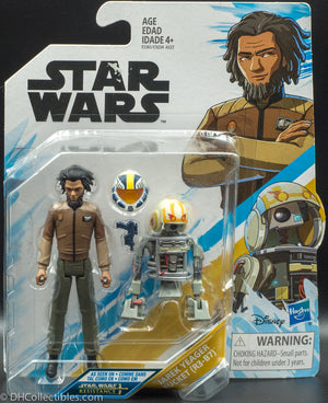 Star Wars Resistance Animated Series Jarek Yeager and Bucket - Action Figure