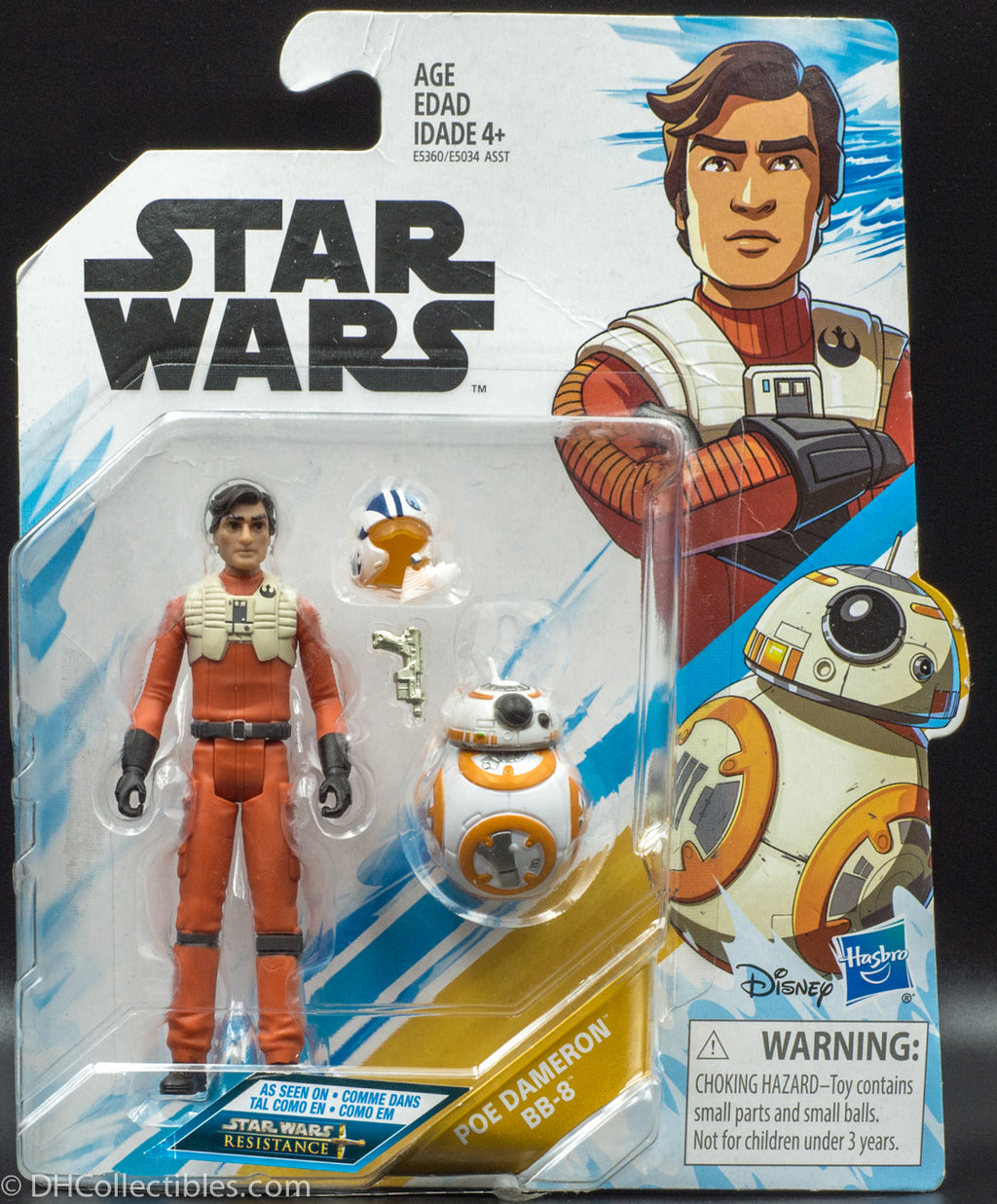 Star Wars Resistance Animated Series Poe Dameron and BB-8 - Action Figure