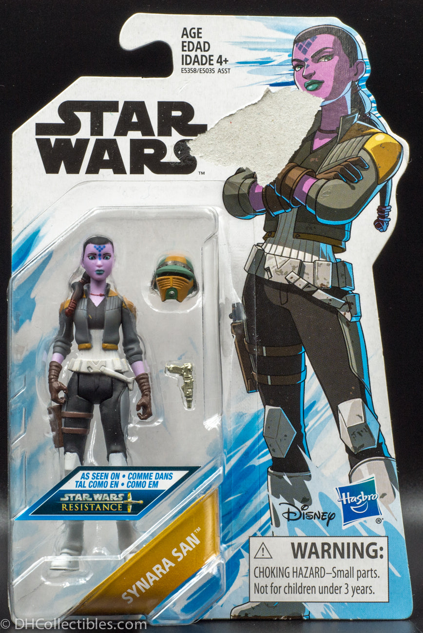 Star Wars Synara San Resistance Animated Series  - Action Figure