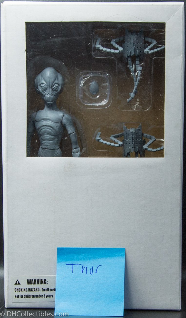Stargate SG1 Unpainted Thor Pre-Production Action Figure - RARE