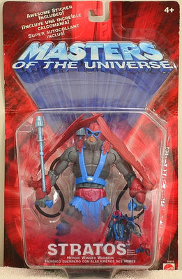 2001 Masters of the Universe Modern Series Stratos -  Action Figure