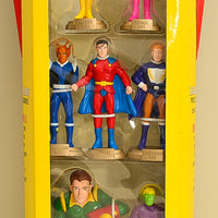 1999 DC Direct  Legion of Super-Heroes Super-Hero Clubhouse - Seven Piece Set