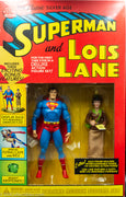 2001 DC Direct Superman and Lois Lane Deluxe Action Figure Set