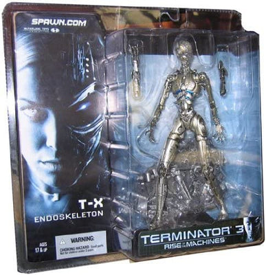 2003 McFarlane Spawn Terminator 3 Rise of the Machines T-X Endoskeleton Action Figure