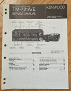 Kenwood TM-721A Service Manual