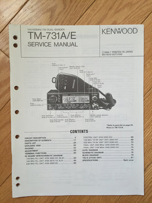 Kenwood TM-731A Service Manual