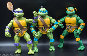 2012 TMNT Classic Collection 3 Figure Set - Loose