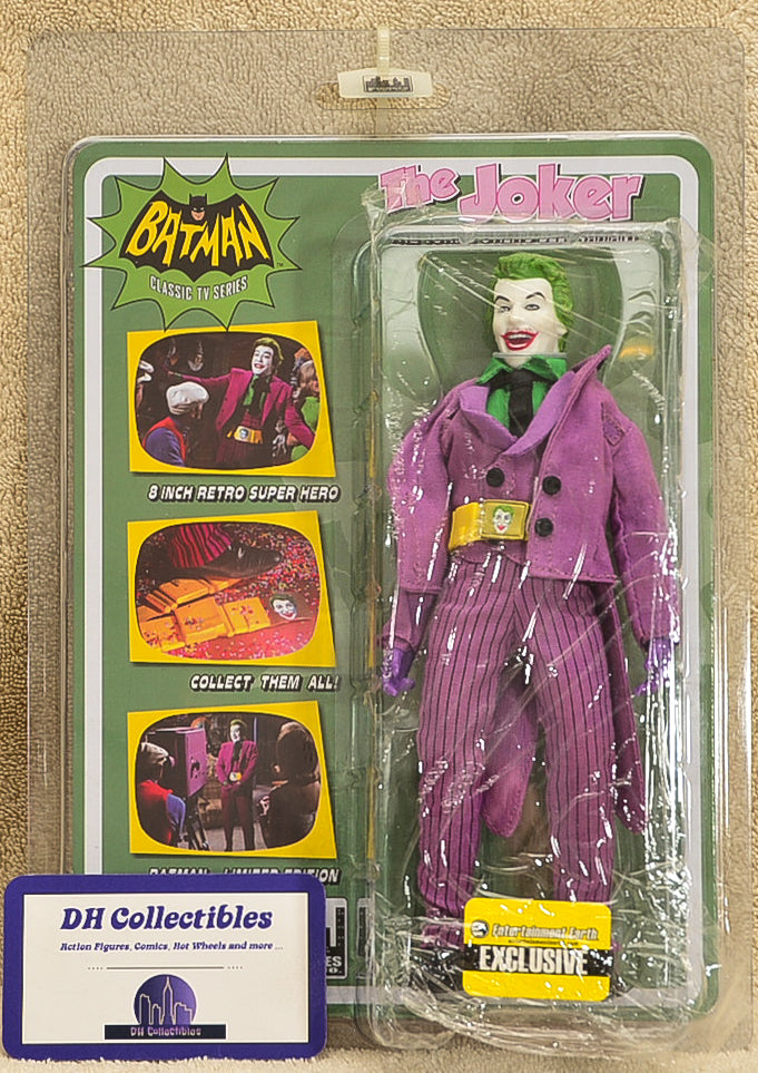 "Figure Toy Co. The Joker - Classic TV Series Utility Belt Variant Action Figure 8"" Mego Retro"
