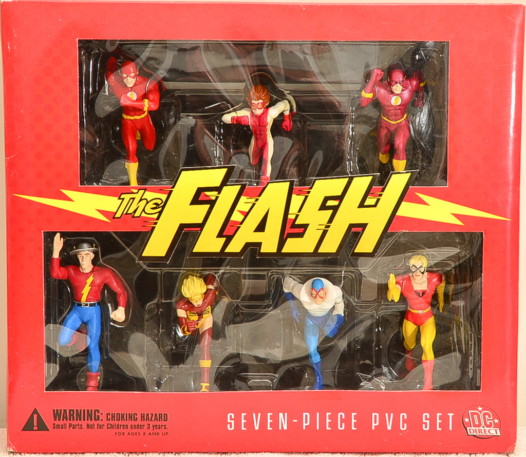 2000 DC Direct The Flash - Seven Piece Set