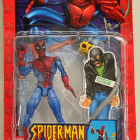 2003 ToyBiz  Spider Strength Spider-Man with Bendable Street Lamp Action Figure
