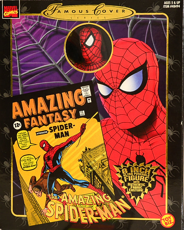 1997 Famous Covers The Amazing Spider-Man Action Figure