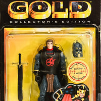 1999 Toy Biz Marvel's Gold Collector's Edition Black Knight Action Figure RARE