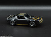 USED Tyco HO Black w/ Gold Firebird Trans Am Slot Car